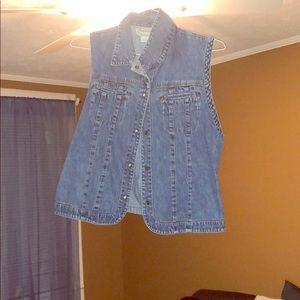 Blue Jean vest